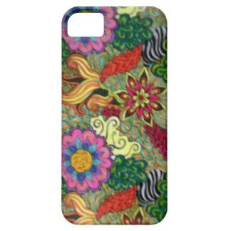 Modelo de flor funda para iPhone SE/5/5s