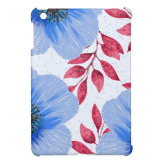 Modelo de flores hermoso de la amapola azul
