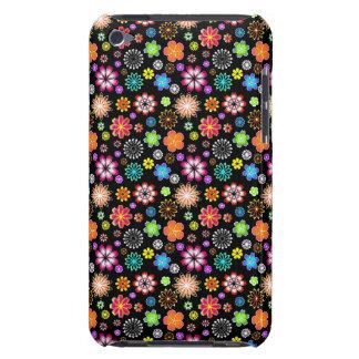 Modelo de flores lindo iPod touch cárcasa
