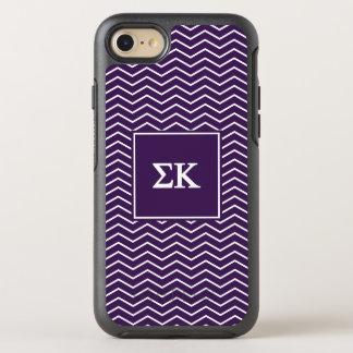 Modelo de Kappa el | Chevron de la sigma Funda OtterBox Symmetry Para iPhone 7
