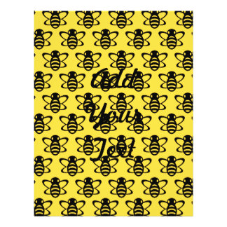 Modelo de la abeja tarjetas publicitarias