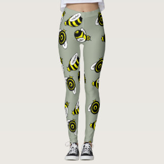 MODELO de la ABEJA por Slipperywindow Leggings