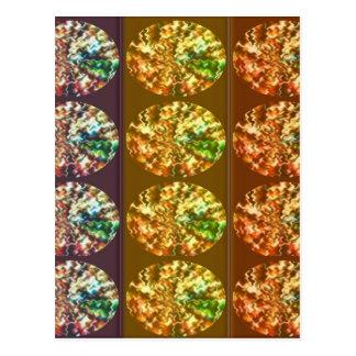 Modelo de la energía de la decoración de los postal