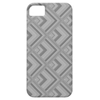 Modelo de la escala gris funda para iPhone SE/5/5s