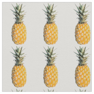 modelo de la fruta de la piña telas