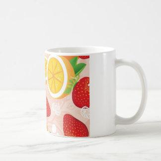 Modelo de la fruta tazas