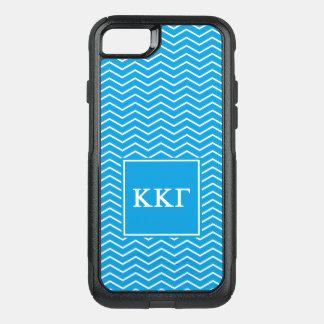 Modelo de la gamma el | Chevron de Kappa Kappa Funda Commuter De OtterBox Para iPhone 7