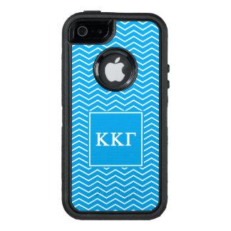 Modelo de la gamma el | Chevron de Kappa Kappa Funda OtterBox Defender Para iPhone 5