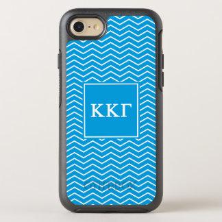 Modelo de la gamma el | Chevron de Kappa Kappa Funda OtterBox Symmetry Para iPhone 7