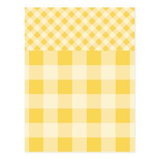 Modelo de la guinga del ánimo de limón postales