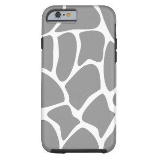 Modelo de la jirafa en gris funda de iPhone 6 tough