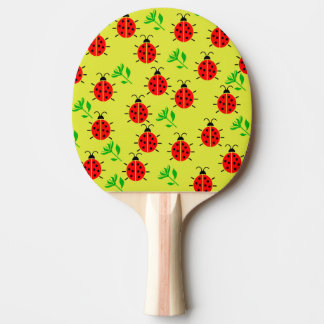 Modelo de la mariquita pala de ping pong