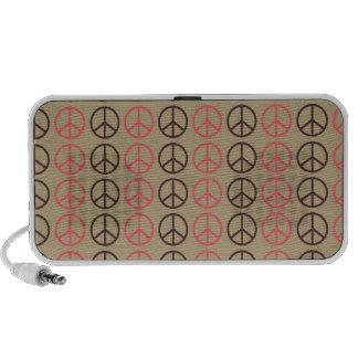 modelo de la paz iPod altavoz