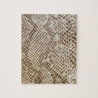 Modelo de la piel del reptil puzzle