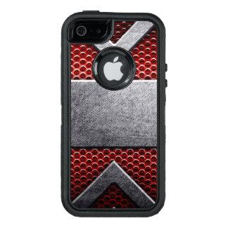 Modelo de la placa de metal funda otterbox para iPhone 5/5s/SE