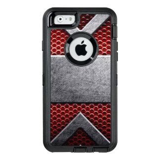 Modelo de la placa de metal funda otterbox para iPhone 6/6s