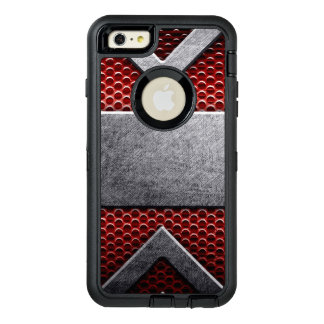 Modelo de la placa de metal funda otterbox para iPhone 6/6s plus
