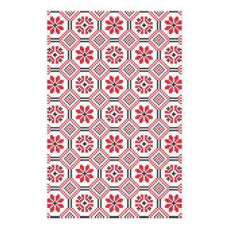 Modelo de la puntada folleto 14 x 21,6 cm