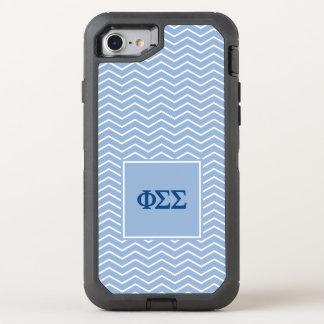 Modelo de la sigma el | Chevron de la sigma de la Funda OtterBox Defender Para iPhone 7