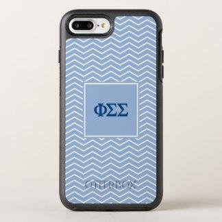 Modelo de la sigma el | Chevron de la sigma de la Funda OtterBox Symmetry Para iPhone 7 Plus