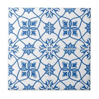 Modelo de la teja de Azulejo del portugués del