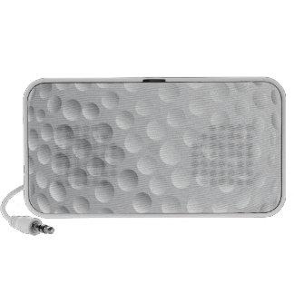 modelo de la textura de la pelota de golf sistema altavoz