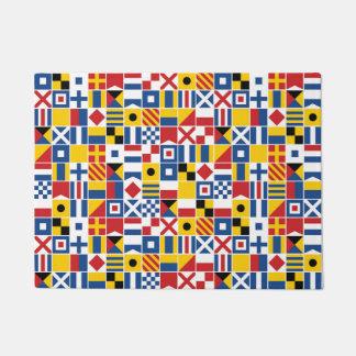 Modelo de las banderas de señal náutica
