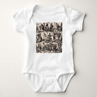 Modelo de las cartas de tarot body para bebé