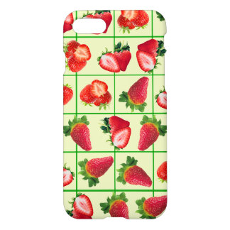 Modelo de las fresas funda para iPhone 8/7