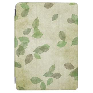 Modelo de las hojas de otoño cubierta de iPad air