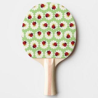 Modelo de las mariquitas pala de ping pong