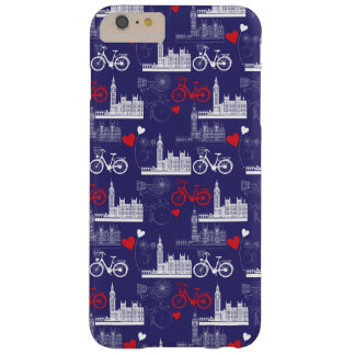 Modelo de las señales de Londres Funda Barely There iPhone 6 Plus