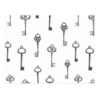 Modelo de llave maestra postal