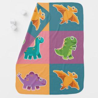 Modelo de los amigos de Dino del bebé Mantitas Para Bebé