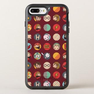 Modelo de los iconos del dibujo animado de Harry Funda OtterBox Symmetry Para iPhone 7 Plus