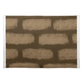 Modelo de los ladrillos de Brown Salvamanteles