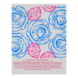 Modelo de los rosas tarjetas publicitarias