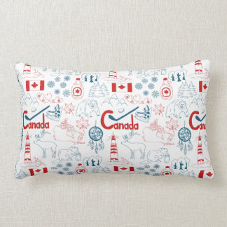 Modelo de los símbolos de Canadá el | Cojín Lumbar