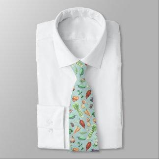 Modelo de los Veggies y de las especias de la Corbata Personalizada