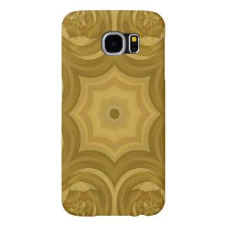 Modelo de madera de moda abstracto funda samsung galaxy s6