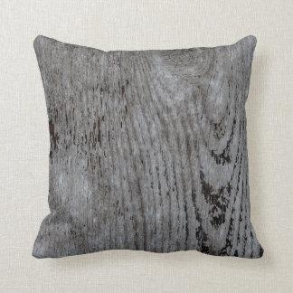 Modelo de madera del extracto de la textura cojín
