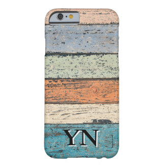 Modelo de madera gastado funda barely there iPhone 6