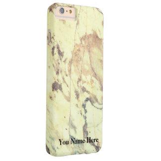 Modelo de mármol blanco funda barely there iPhone 6 plus