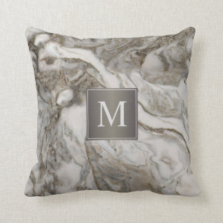 modelo de mrmol gris con el cojn decorativo
