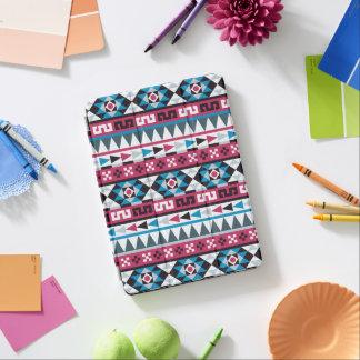 Modelo de moda del Azteca del azul y de la Cubierta De iPad Air