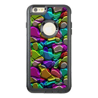 Modelo de mosaico colorido fresco retro enrrollado funda otterbox para iPhone 6/6s plus