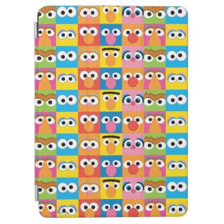 Modelo de ojos del carácter del Sesame Street Cover De iPad Air