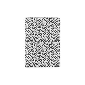 Modelo de puntos blanco y negro de la tinta portapasaportes