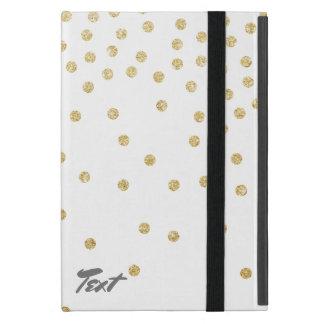 modelo de puntos claro elegante del confeti del iPad mini coberturas