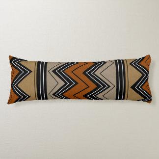 Modelo de zigzags africano cojin cama